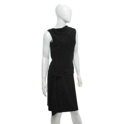 Alexander McQueen Kleid in Schwarz