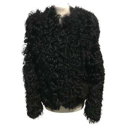 Isabel Marant Giacca in pelle di agnello in nero