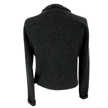 Rena Lange Rena Lange cashmere jacket boucle