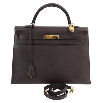 "Hermès ""Kelly Bag 35 Epsom Leather"""