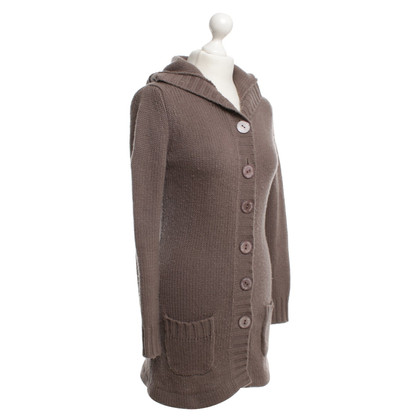 Princess goes Hollywood Grobstrick-Cardigan in Taupe