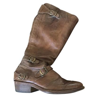 Belstaff stivali da equitazione