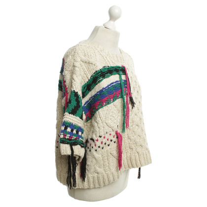 Isabel Marant wool jumper in Cream / Bunt