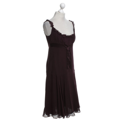 Ted Baker Silk dress in Bordeaux