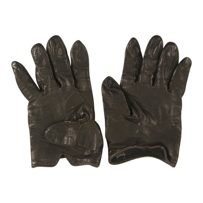 Gucci Brown leather gloves
