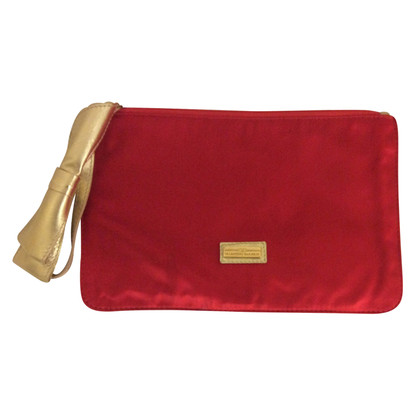 Valentino Clutch Valentino red silk