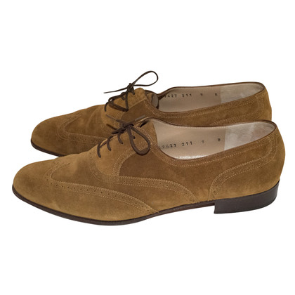 Salvatore Ferragamo French suede
