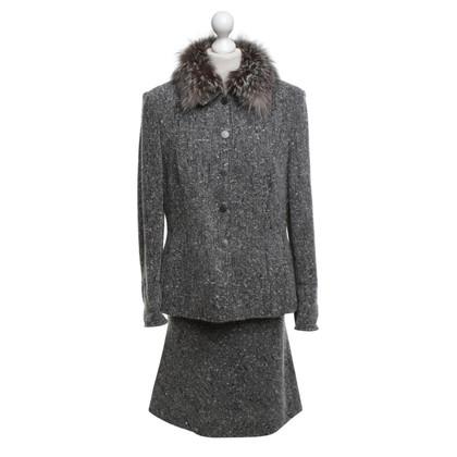 Rena Lange Kostuum van boucle fabric