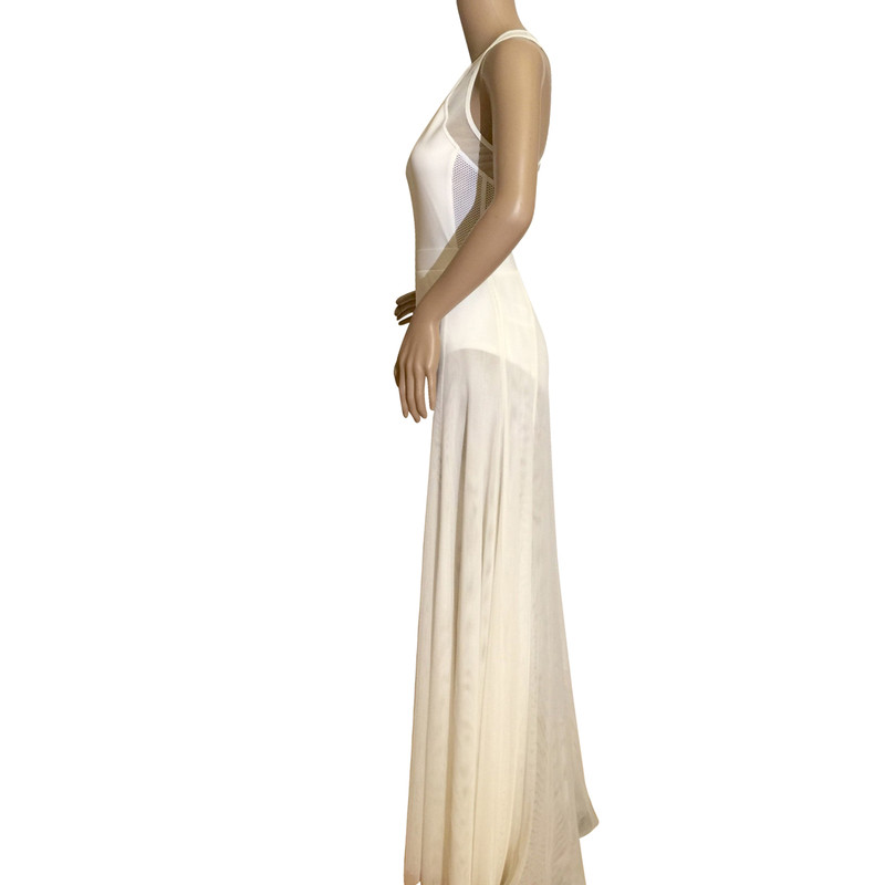 Dkny stretch jersey maxi dress