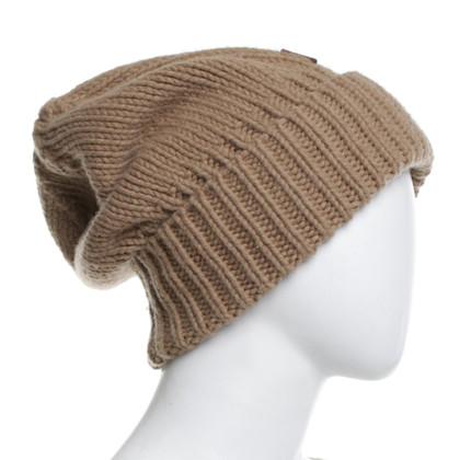 Dsquared2 Cappello in maglia beige