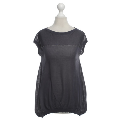 Brunello Cucinelli Top in Blauw