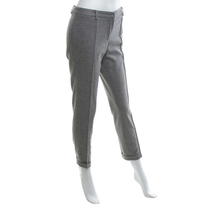 Blumarine Broek in Light Grey / Zilver