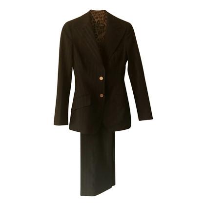 Dolce & Gabbana Kostuum zwart krijtstreep Dolce e Gabbana