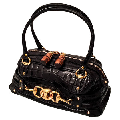 Gucci Boston Bag krokodillenleer