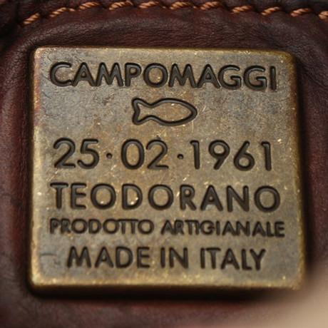 Campomaggi Shopper aus Leder/Tweed Braun Freie Versandrabatte Gut Verkaufen Verkauf Online Auslass Sehr Billig Outlet-Store Online-Verkauf Grau-Outlet-Store Online gVnqIqdj