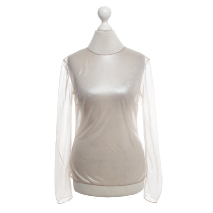 La Perla top in metallic look