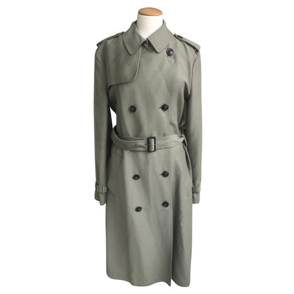 Closed Trench coat in olive green