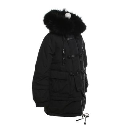 Dsquared2 Down coat in black