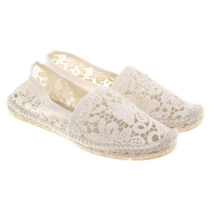 Tory Burch Espadrilles in cream