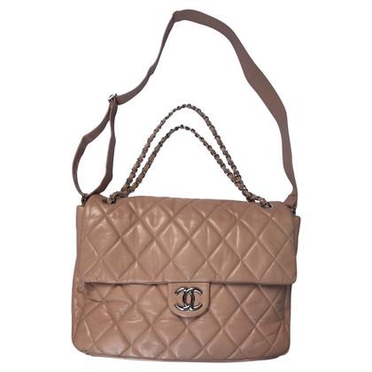 Chanel TIMELESS MAXI XXL CAVIAR BEIGE