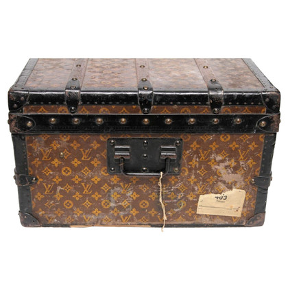 "Louis Vuitton Overseas Chest ""Steel Bound Cabin Trunk"""