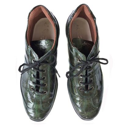 Roberto Cavalli Metallic color sneaker