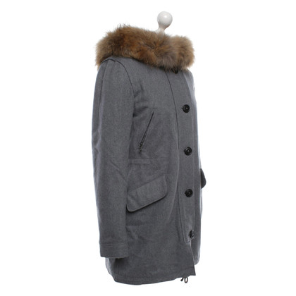 Blonde No8 Coat in grey