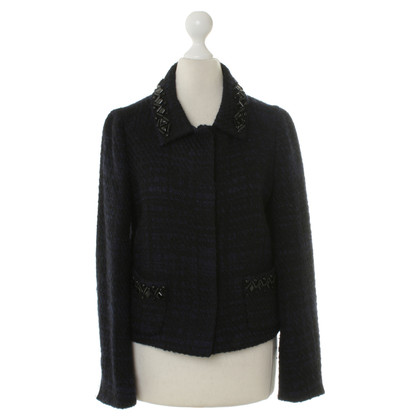 Prada Blazer in Midnight Blue