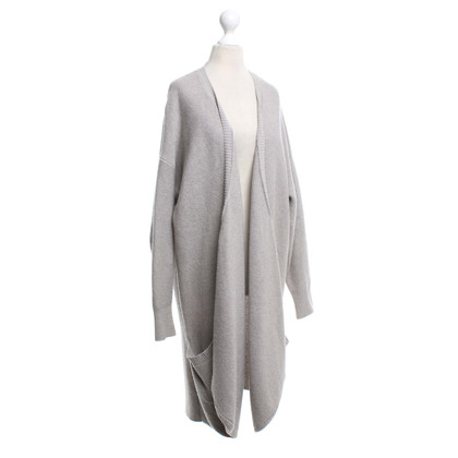Stefanel Knitted coat in oversized look