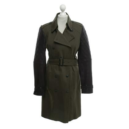 Set Coat in khaki