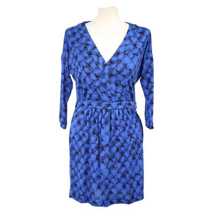 Diane von Furstenberg Kleid in Dunkelblau