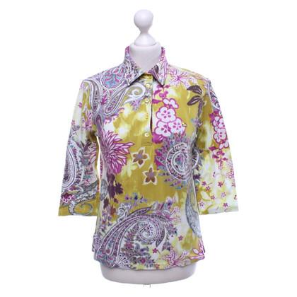 Etro Gemusterte Bluse in Multicolor