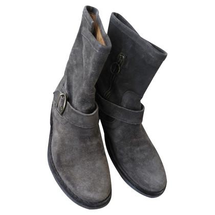 Fiorentini & Baker Stivali di pelle scamosciata