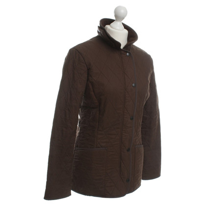 Barbour Waxed down jacket