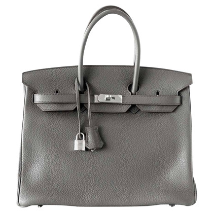 """Hermès """"Birkin Bag 30 Clémence Etain"""""""