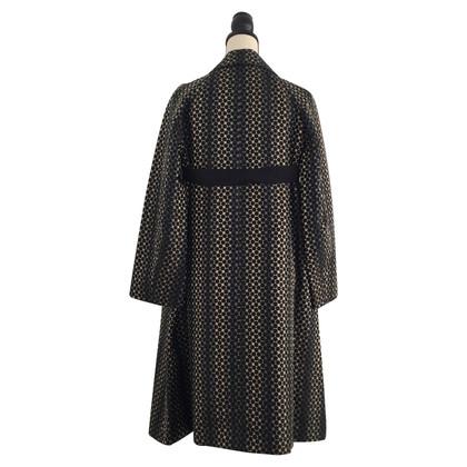Dries van Noten Silk coat with pattern