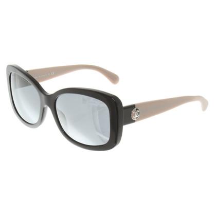 Chanel Zonnebril in zwart / Beige