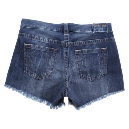 True Religion Denim shorts in blue