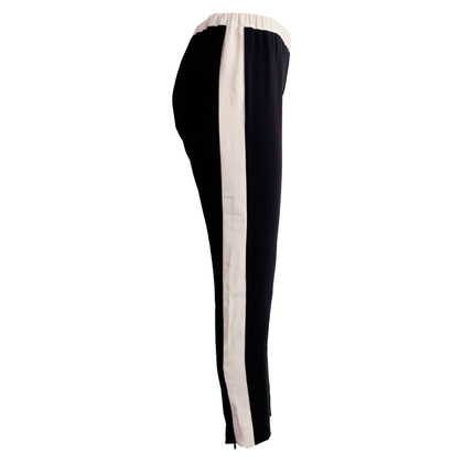 Twin-Set Simona Barbieri Pants in black and white