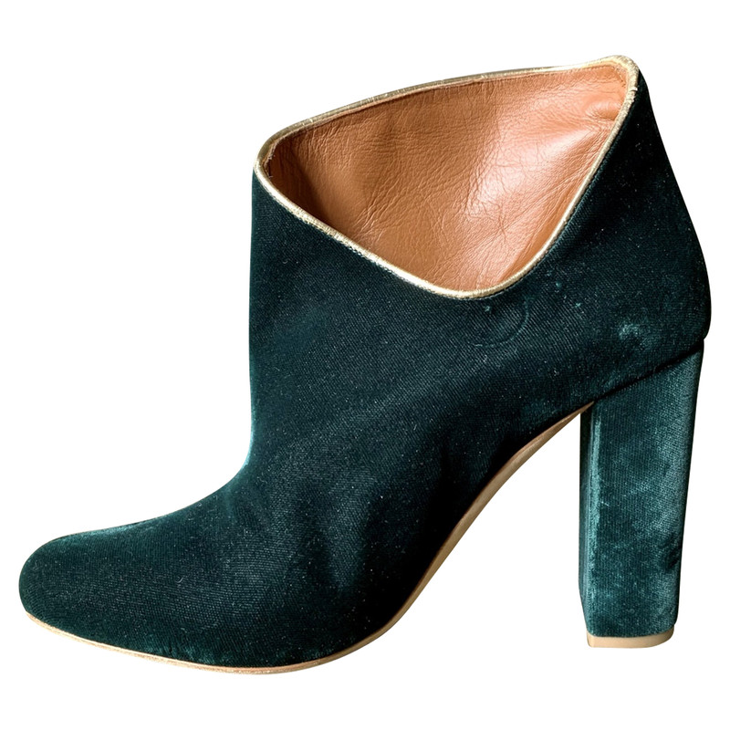 Malone Souliers Ankle boots in Green