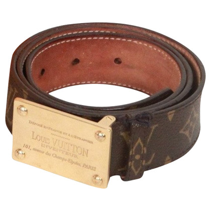 Louis Vuitton Belt from Monogram Canvas