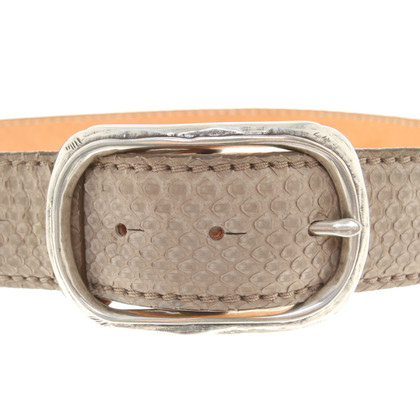 Reptile's House riem in Taupe