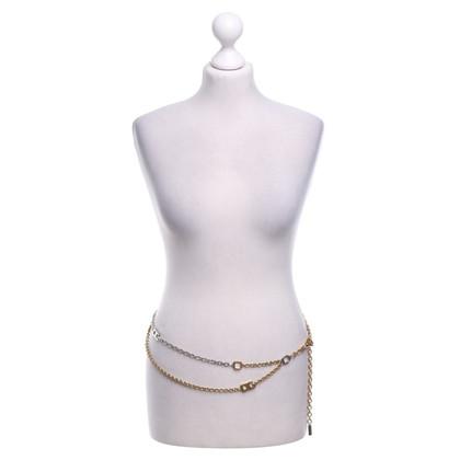 Dolce & Gabbana Chain belt in gold / silver