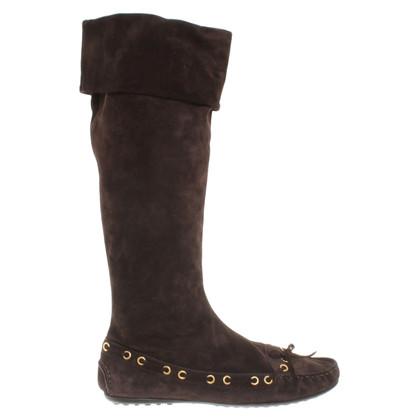 Car Shoe Suede boots