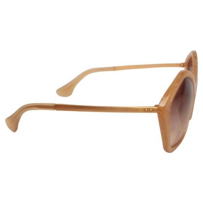 Miu Miu Yellow sunglasses