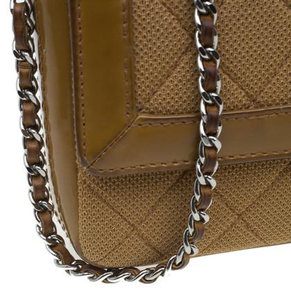 Chanel CChanel Brown wol & lakleder Bag
