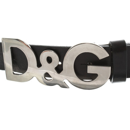 Dolce & Gabbana Leather belts made of leather