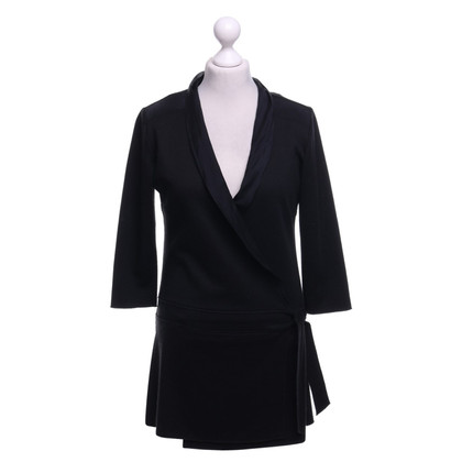 Costume National Long-Blazer in Schwarz