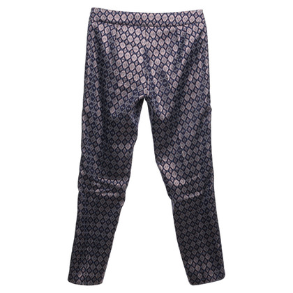 Max & Co trousers with diamond pattern