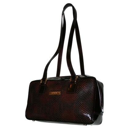 Escada Snake leather shoulder bag